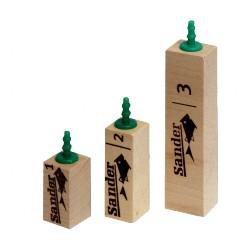 Sander difuzor dřevěný 1 - 35mm